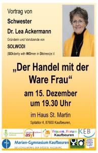 Vortrag Lea Ackermann